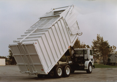 1985 White WX Partial Pack Front Loader