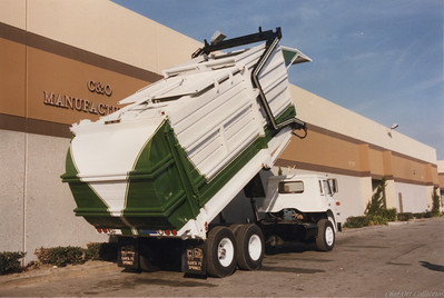 "Cal San International ""Mid Weight"" Partial Pack Front Loader"