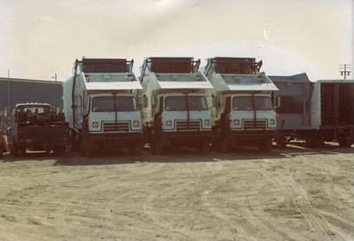 Trio of Partial Pack Front Loaders