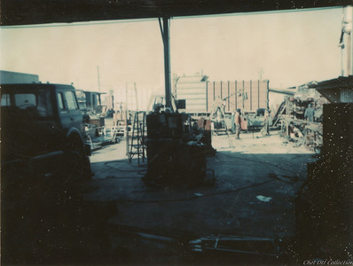 Photo Taken From Desk In Small Original Office and Part Trailer