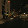 019 Baltimore St brick lined pedestrian mall_night_Cumberland, MD