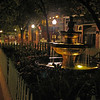 018 Baltimore St pedestrian mall fountain_night