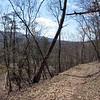 Decending south side of Sorrel Ridge on Tunnel Hill Trail