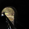 Looking out the south portal of the Paw Paw Tunnel