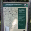 Lock 58 sign for Green Ridge State Forest Hiking Trail