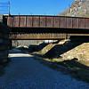 Railroad bridges cross C&O at Harpers Ferry