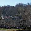 Historic Harpers Ferry WV across river from C&O Canal