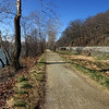 Towpath at the MD Heights trailhead bridge