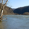Snowmelt has Potomac running high at Harpers Ferry