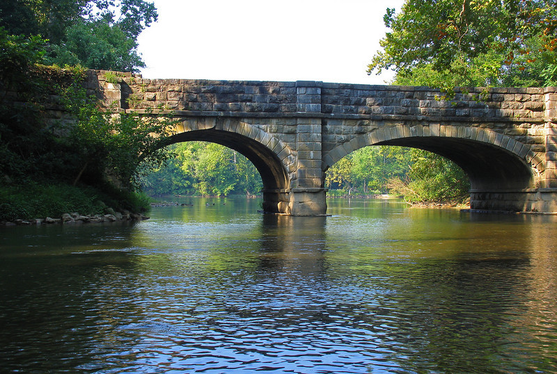 26 Antietam Creek Aqueduct center and downstream arches