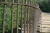 18  Monocacy Aqueduct railings with canal boat tow rope wear