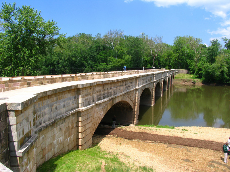 15 Monocacy River Aqueduct just after completion of restoration