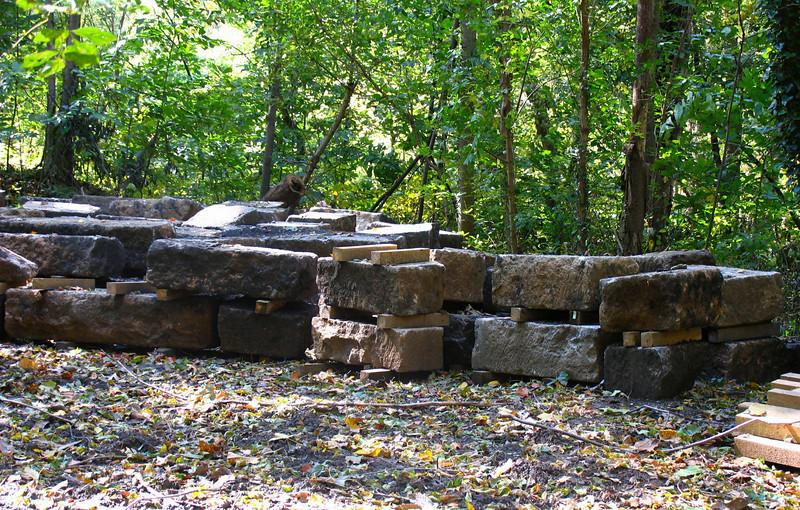 23 9  Recovered Cactoctin Aqueduct stones