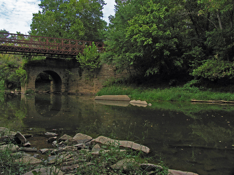 23 2  Catoctin Creek Aqueduct remaining downstream arch