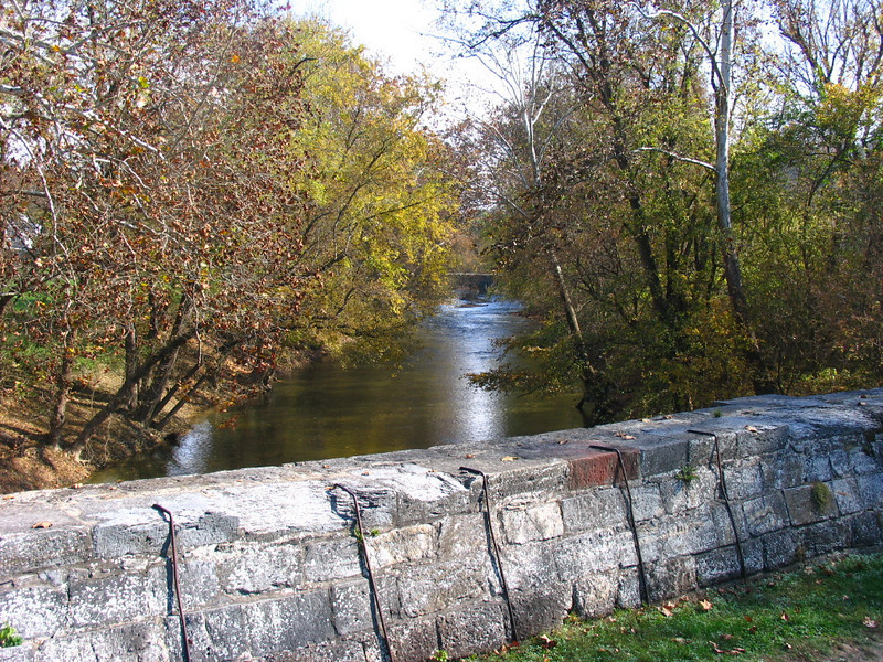 30 Antietam Creek upstream view from aqueduct