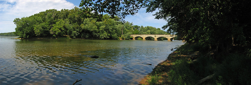 12 Monocacy River Aqueduct _Mouth of Monocacy River view