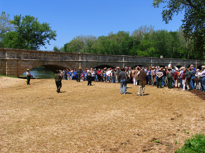 08  Monocacy Aqueduct Rededication Ceremony May 21, 2005