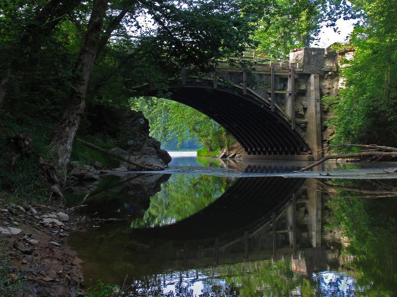 44 Tonoloway Creek Aqueduct upstream side