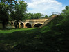 13 Monocacy River Aqueduct downstream stepped wing wall