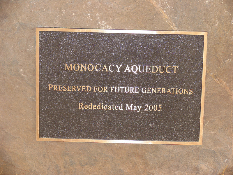 09  Monocacy Aqueduct_Preserved for future generations_Rededicated May 2005