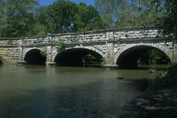 28 Antietam Creek Aqueduct downstream side
