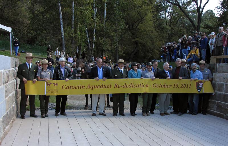 10-15-2011 Catoctin Aqueduct rededication cermony