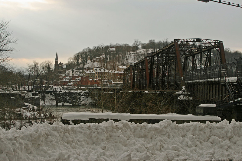 34 Harpers Ferry, WV after 2009 snowstorm