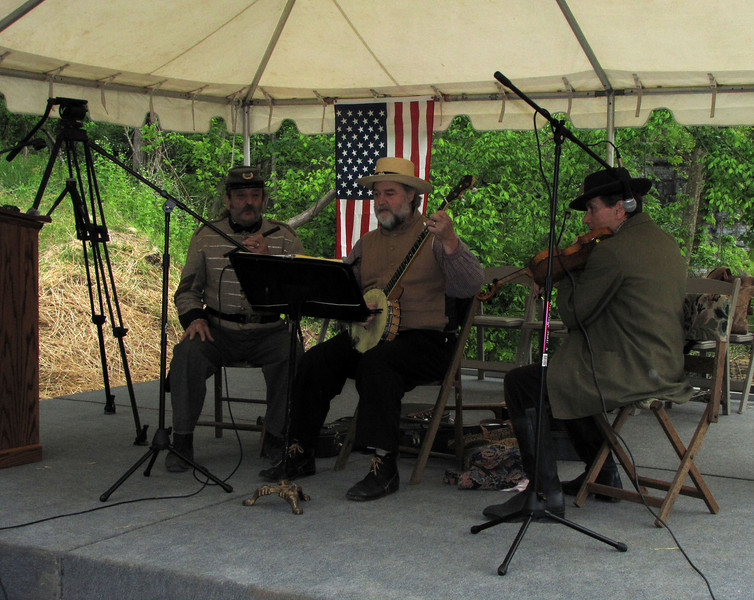 Gilmore's Light Ensemble performed at the Catoctin Aqueduct Groundbreaking Ceremony April 24, 2010. The Gilmore's Light Ensemble played and sang traditional 19th Century music wearing clothing of the mid-1800's.
