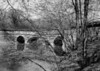 The Catoctin Aqueduct, constructed 1832-34, was the third<br /> (No. 3) stone aqueduct to be built on the C&O Canal. The aqueduct is 92 ft. between abutments, and its entire span consisted of a central elliptical arch, and two semicircular arches. The builders of the Catoctin Aqueduct were Tracy & Douglas.