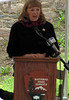 President Jan Gardner, Frederick County Board of County Commissioners, delivered remarks at the Catoctin Aqueduct groundbreaking ceremony.