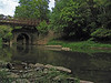 9/09/2007   Catoctin Creek Aqueduct's still intact eastern arch on September 9, 2007.