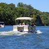 08/12/2006  Big Slackwater Tour pontoon boat in the scenic Big Slackwater area of the Potomac.