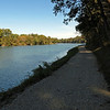 Reconditioned section of Big Slackwater towpath