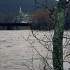 41 Town of Harpers Ferry, WV across flooded Potomac