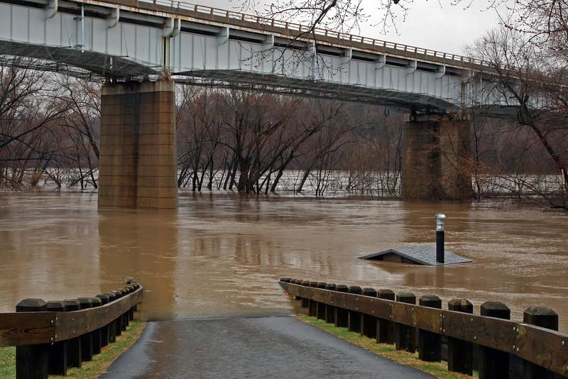 31 Flooded Potomac Brunswick MD March 14, 2010
