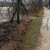 37 Potomac River rises to towpath level