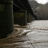 50 Raging Potomac  under CSX bridge at Harpers Ferry