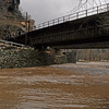 52 Flooded C&O Canal under CSX bridge (Harpers Ferry)
