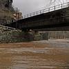 52 Flooded C&O Canal under CSX bridge (Harpers Ferry)