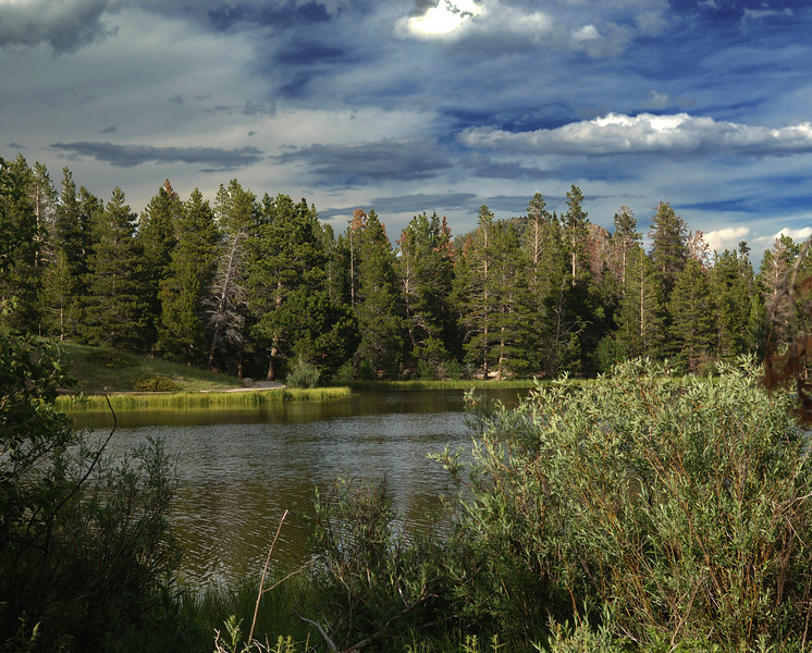 Good morning,Hope you have a great day<br /> Rocky Mountian National Park<br /> Spraque lake