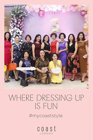 COAST London 3rd Anniversary Photo Booth in Hanoi - in ảnh lấy ngay sự kiện tại Hà Nội