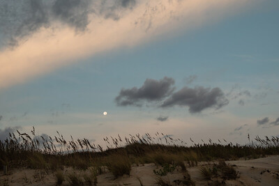 Moonset on OBX