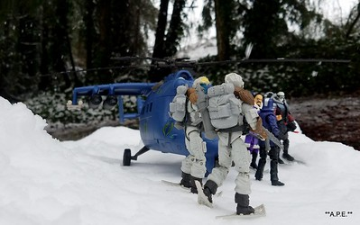 COBRA A.R.C. IN THE SNOW