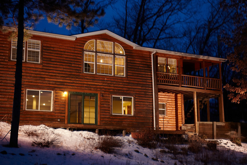 Luck, WI - Cabin on the lake for Pure Design © Todd Buchanan 2012