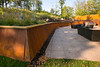 Minnetonka,  - Trace Ridge Rd in Minnetonka - Backyard, retaining wall, railing, table and art work. Photo by © Todd Buchanan 2012 Technical Questions: todd@toddbuchanan.com;