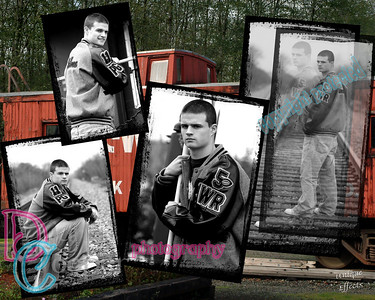 Caboose 4pic collage