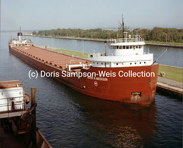 HW-Arthur M. Anderson, Soo Locks