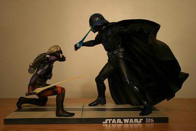 Star Wars McQuarrie Concept Luke Skywalker vs. Darth Vader by Kotobukiya