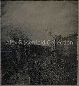 "Sergey Sergeyev ""The Road to the Sea"", 1979. Etching on paper, 2/7. 24""x19"""
