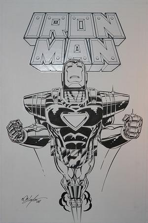 Als Original Comic Book Art